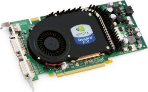 Видеокарта PCI-E 256Mb 256bit PNY Quadro FX 3450 2xDVI TV