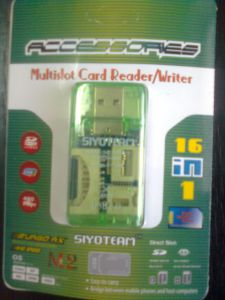 Multidot Card Reader/Writer 16in1 (Siyoteam) ― Интернет-магазин 361 / COMCON l.t.d