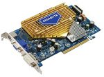 Графическая карта AGP 128-бит 256 MB DDR2 NVIDIA GeForce 7600 GS Gigabyte