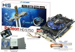 Видеокарта PCI-E HIS H575FN1GD Radeon HD 5750 1GB 128-bit GDDR5 ― Интернет-магазин 361 / COMCON l.t.d