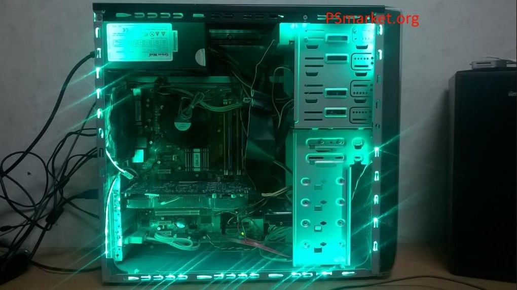 4-x Ядерный компьютер с подсветкой