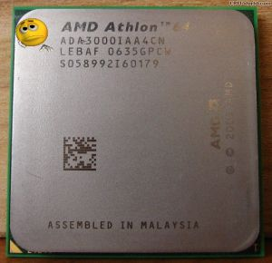 Процессор AMD Athlon 64 3000+ 1.8GHz socket AM2 ADA3000IAA4CN tray