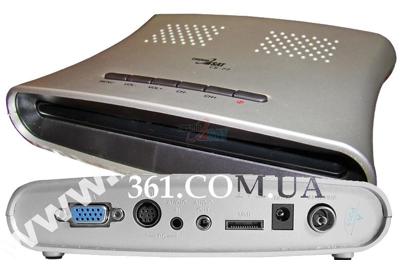 внешний ТВ-тюнер для превращения Вашего компьютерного ЭЛТ или TFT монитора