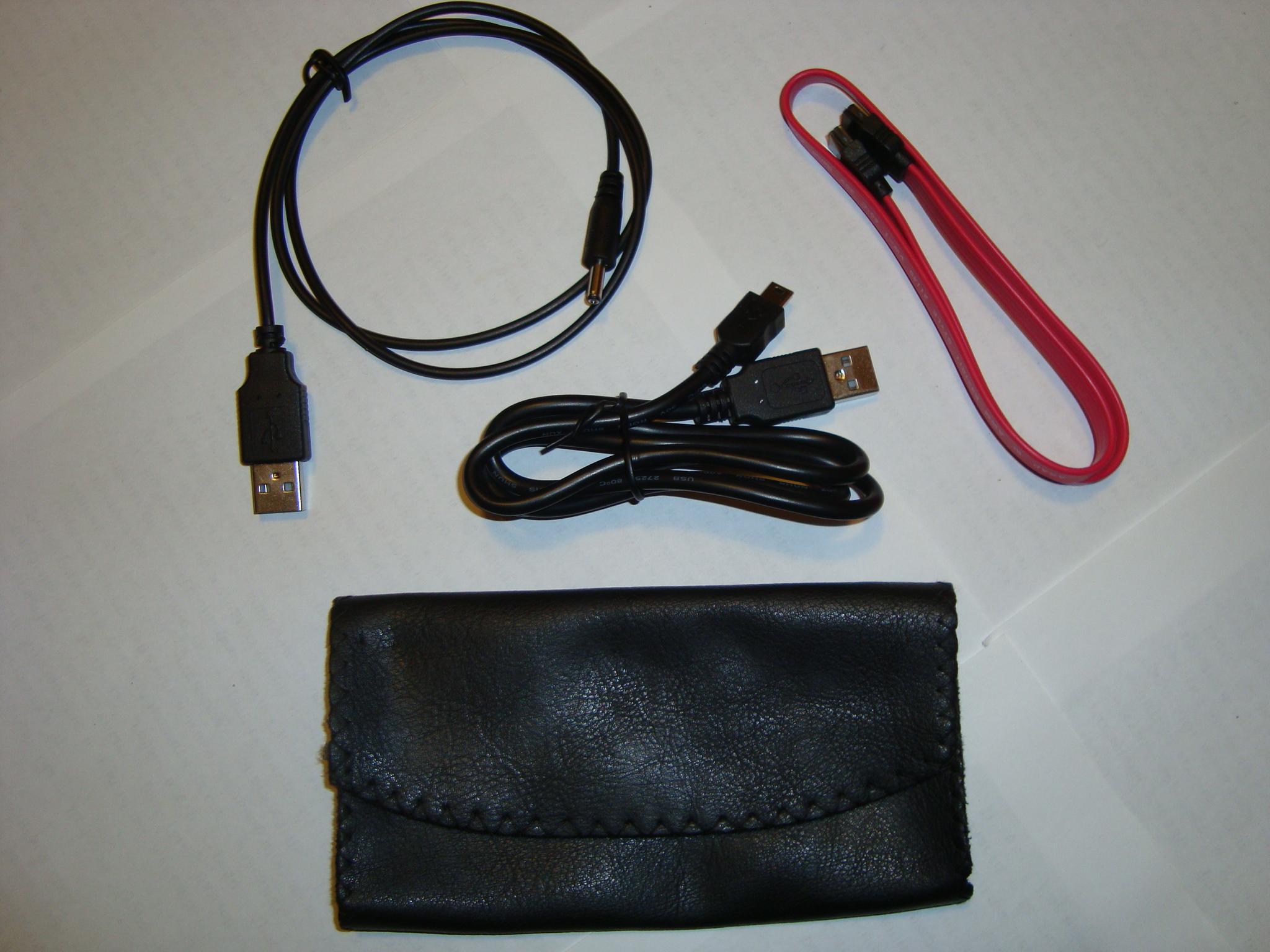 Внешний карман для SATA/IDE 2.5,алюминий, синяя LED подсветка индикатора