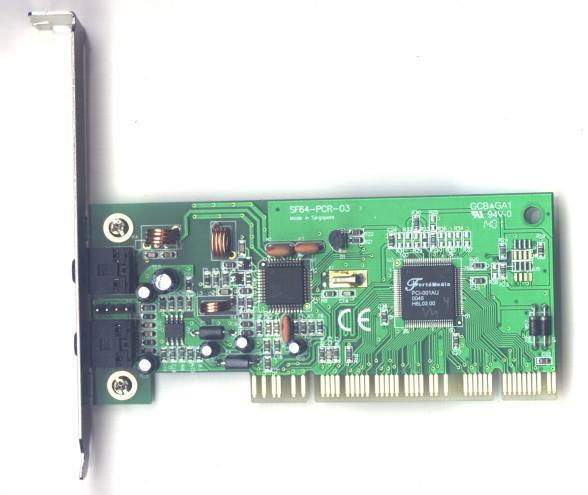 Fortemedia fm801-au sound card