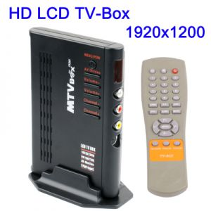Автономный ТВ- Тюнер External LCD TV BOX