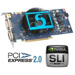 Видеокарта PCI-E SPARKLE GeForce 9600GT 512Mb DDR3 256 bit HDTV-Out DVI