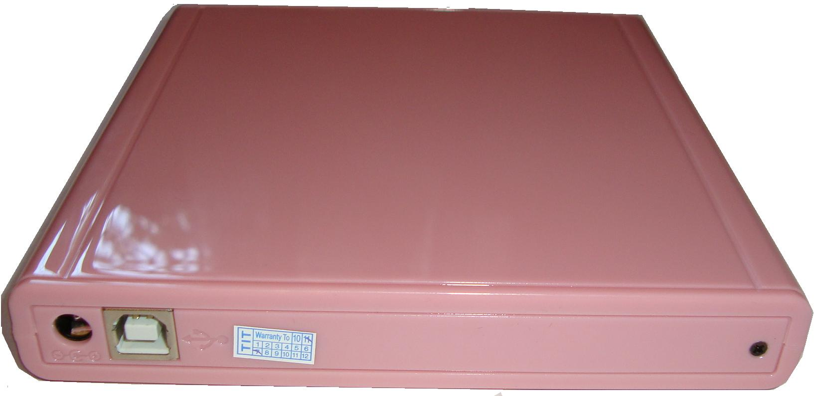 Гламурный Оптический привод Внешний DVD-RW USB 2.0 Panasonic Pink
