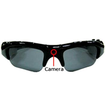 Спортивные очки со встроенной камерой и слотом для карты памяти