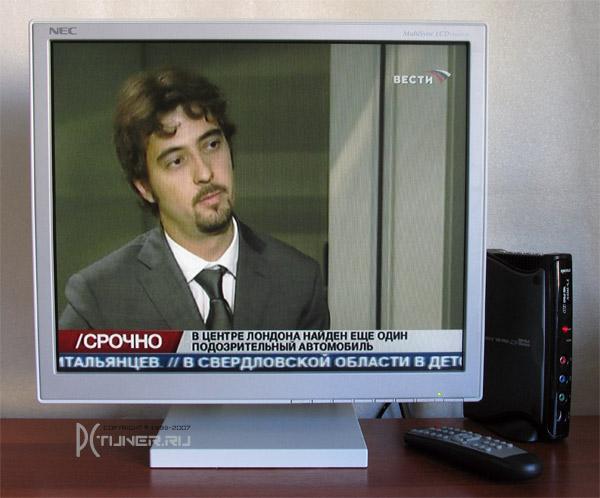 Качество Автономный TV-тюнер