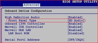 Настройка BIOS